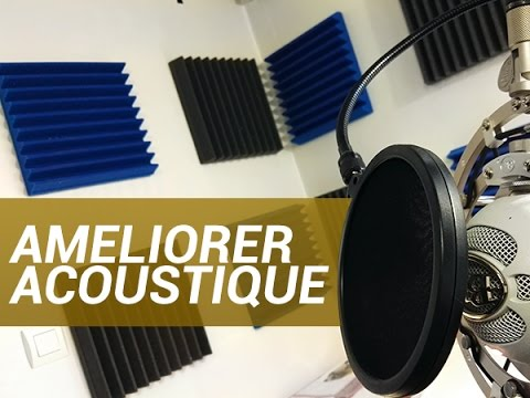 Lab am liorer l 39 acoustique d 39 une pi ce w38 youtube for Acoustique d une piece