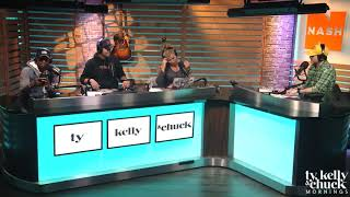 Jimmie Allen Slides Into Sophia Bush's DMs Live On-Air - Ty, Kelly & Chuck