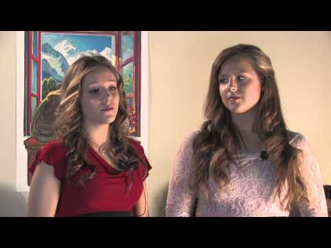 Voices for Equality - Day of the Girl: Lena Bajza and Jammie Dumolt at TEDxVailWomen