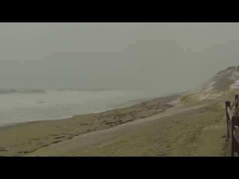 Blizzard 2014 Cape Cod Coast Guard Beach Truro