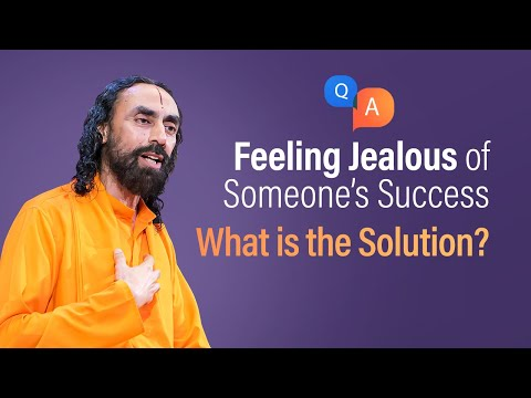 Feeling JEALOUS of Someone's Success? Do this to get Rid of It | Q/A with Swami Mukundananda