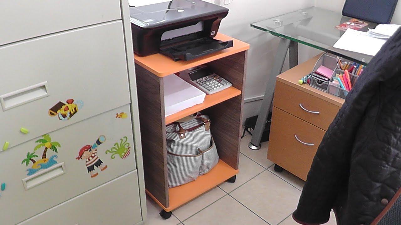 mesa para impresora youtube