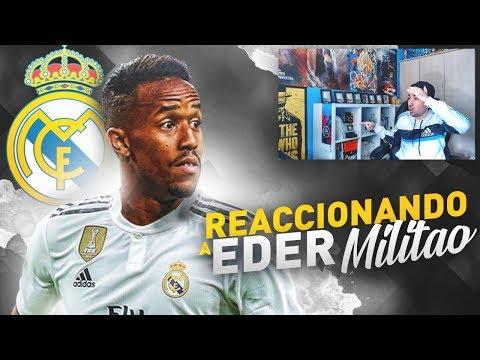 EDER MILITAO nuevo jugador del REAL MADRID ¿Cómo juega? | Calleti