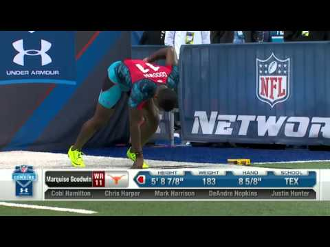 Tavon Austin & Marquise Goodwin - 2013 NFL Combine REAL VIDEO
