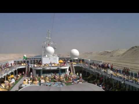 Suez Canal Transit April 2017