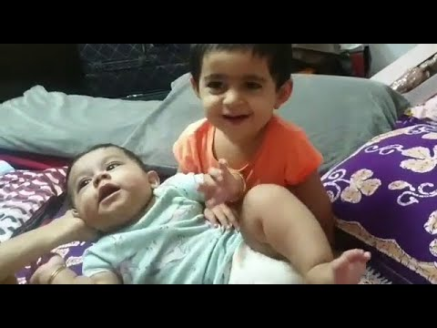 Ayra Yash Cute Playing with Brother Junior Yash | Rocking Star Yash Daughter and Son New Video