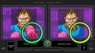 Super Street Fighter II Turbo (Arcade vs 3DO) Continue Screens Comparison