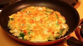 Best Seafood Pancake -- Haemul-pajeon
