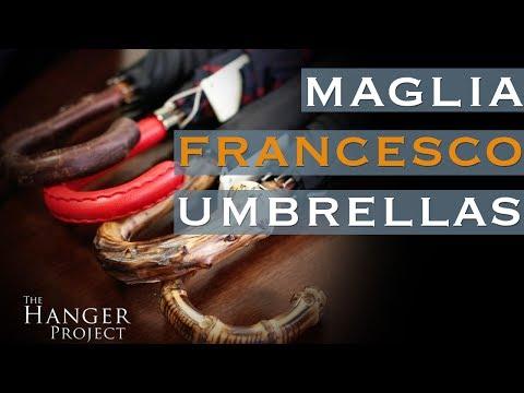 The Craftsmanship of Italian Umbrellas: Maglia Francesco
