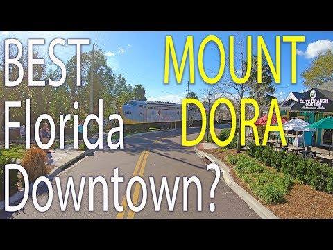 Mount Dora: Florida. A Driving Tour Of The Beautiful Downtown
