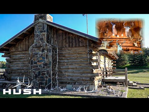 THE ULTIMATE OUTDOOR CABIN AND TROPHY ROOM | NORTH DAKOTA DAY #2