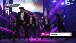 BTS - TOMORROW ( BTS COUNTDOWN 20171012 M COUNTDOWN)