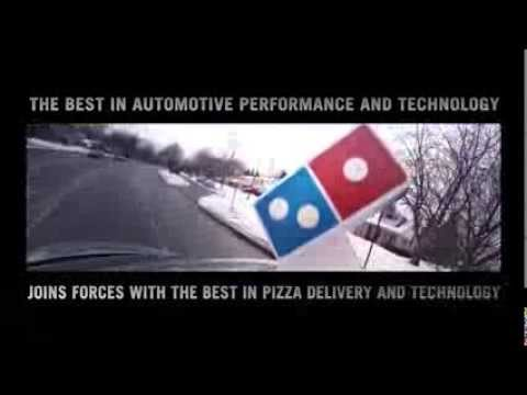 Domino's Pizza Unveils Latest Ordering App Innovation Using Ford SYNC AppLink System #CES2014
