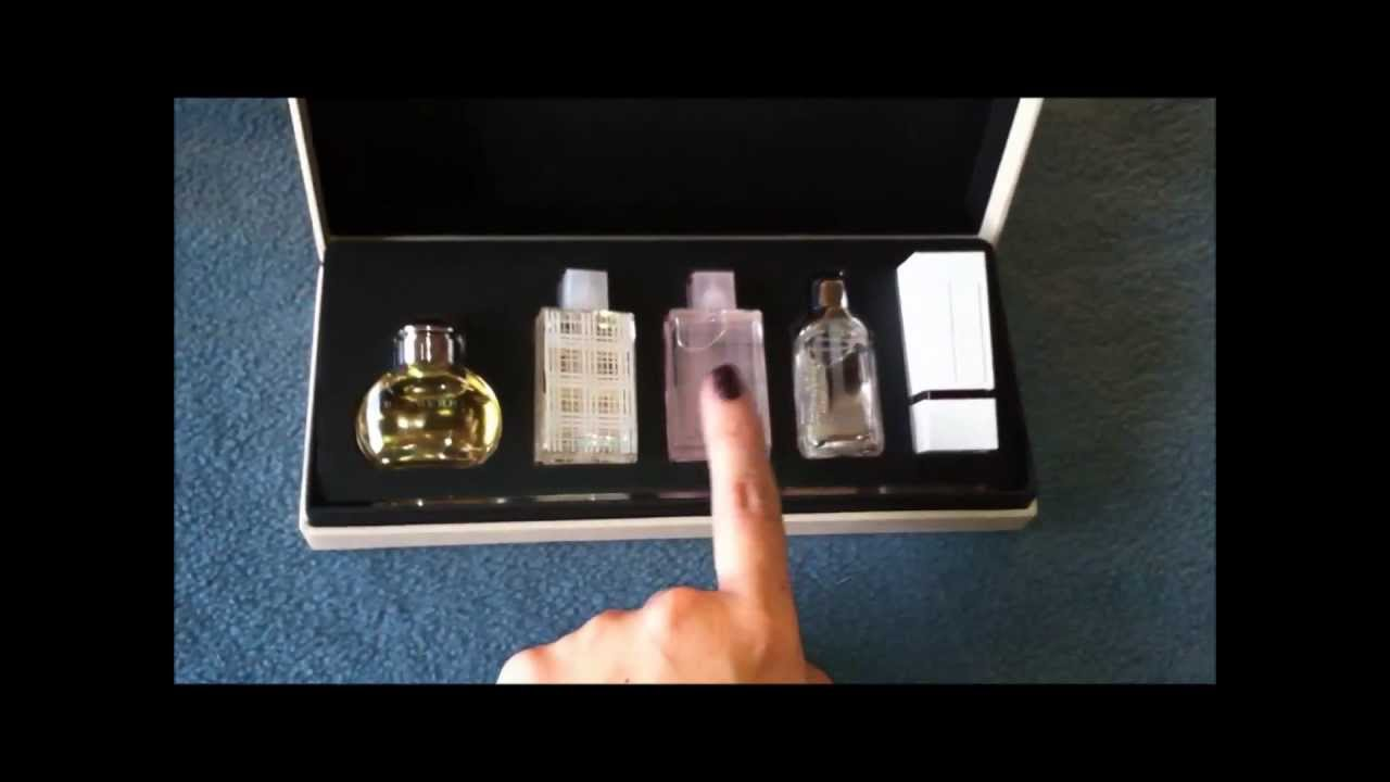perfume burberry coffret for women youtube. Black Bedroom Furniture Sets. Home Design Ideas