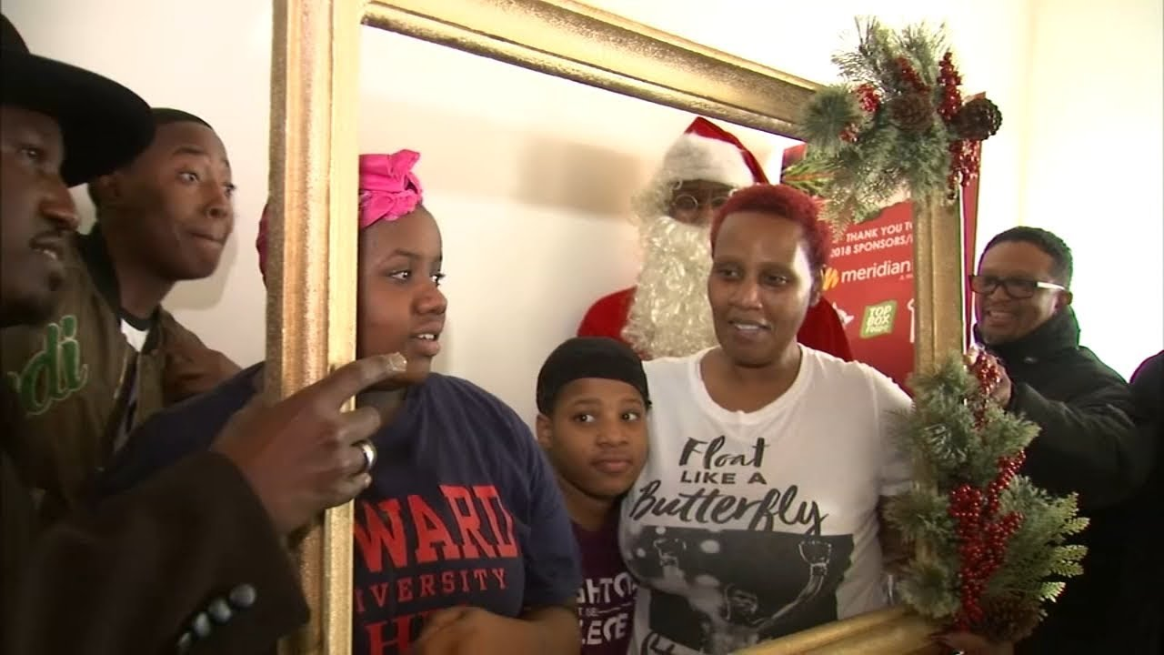 Young men surprise needy families with Christmas gifts  sc 1 st  YouTube & Young men surprise needy families with Christmas gifts - YouTube