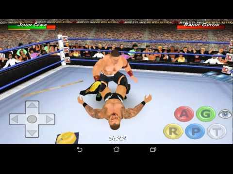 Wrestling revolution 3d john cena vs randy orton youtube