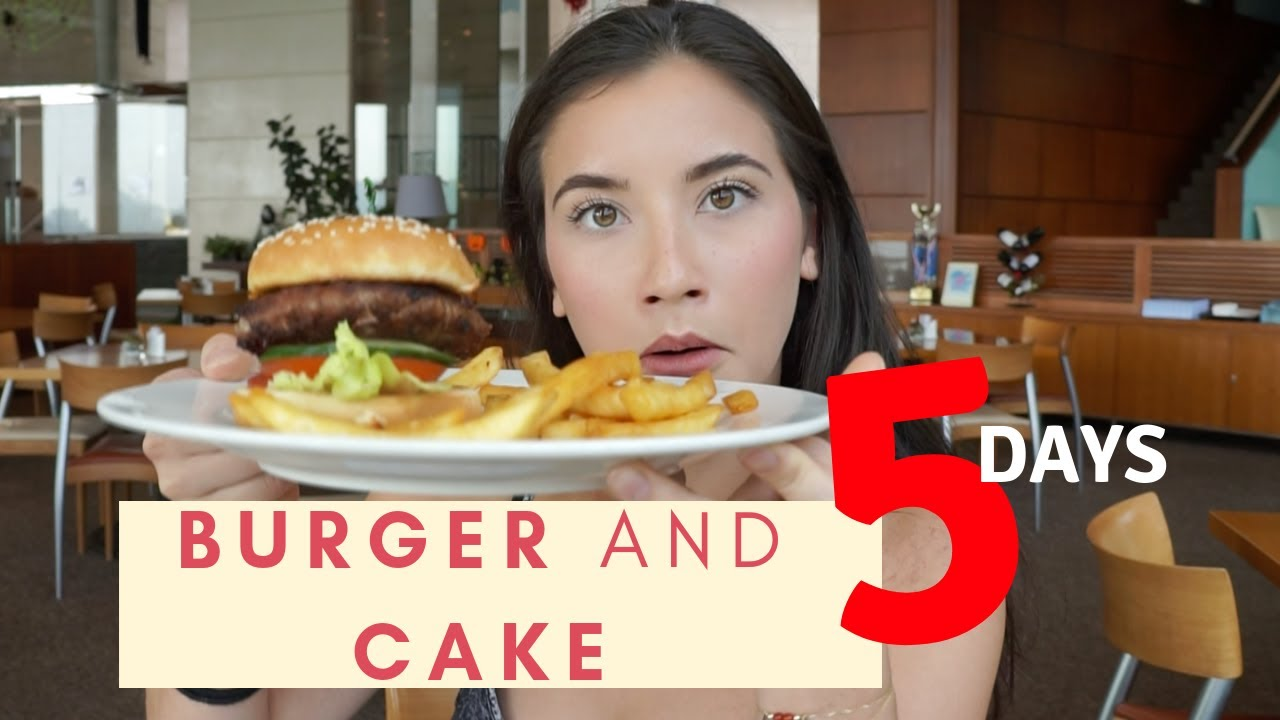 i ate a burger and cake everyday for 5 days anorexia recovery youtube. Black Bedroom Furniture Sets. Home Design Ideas