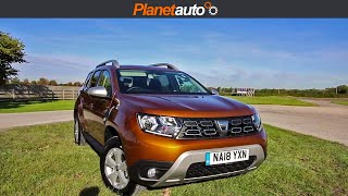 Dacia Duster 2018 Micro Review and Road Test