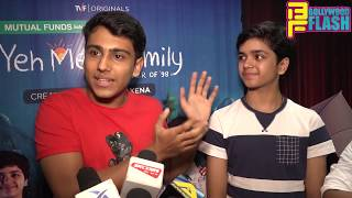 TVF - Yeh Meri Family Webseries Launch - Mona Singh, Akarsh Khurana