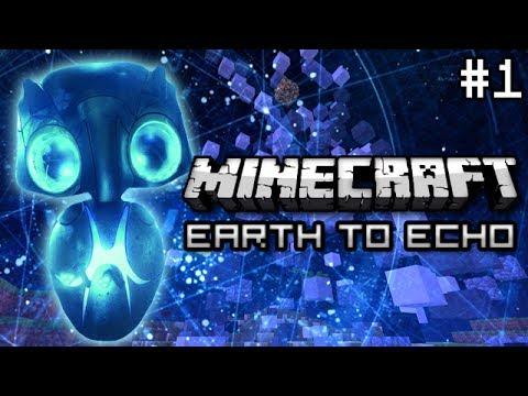 Minecraft: Earth to Echo Mini Game w/ SethBling & Aurey