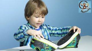 Детские кроссовки с колёсиками Heelys. Первый заезд. Кроссовки-ролики. МанкиТайм