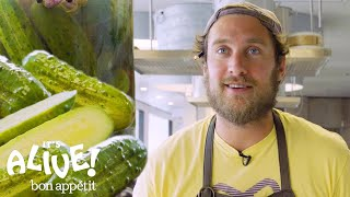 Brad Makes Crunchy, Half-Sour Pickles | It's Alive | Bon Appétit
