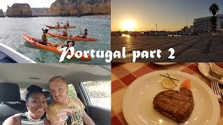PORTUGAL LAGOS | Part 2 | Vlog #9 | Jack & Jane