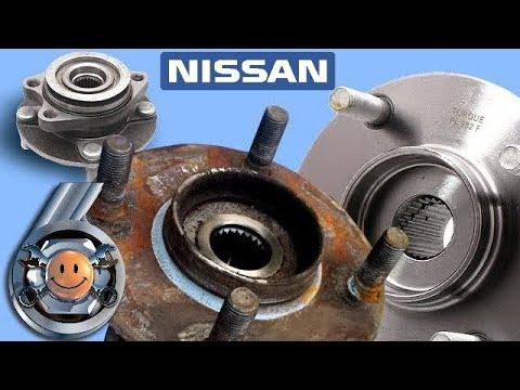 """Простая замена передней ступицы Nissan. Ремонт авто. """"Гараж №6"""""""
