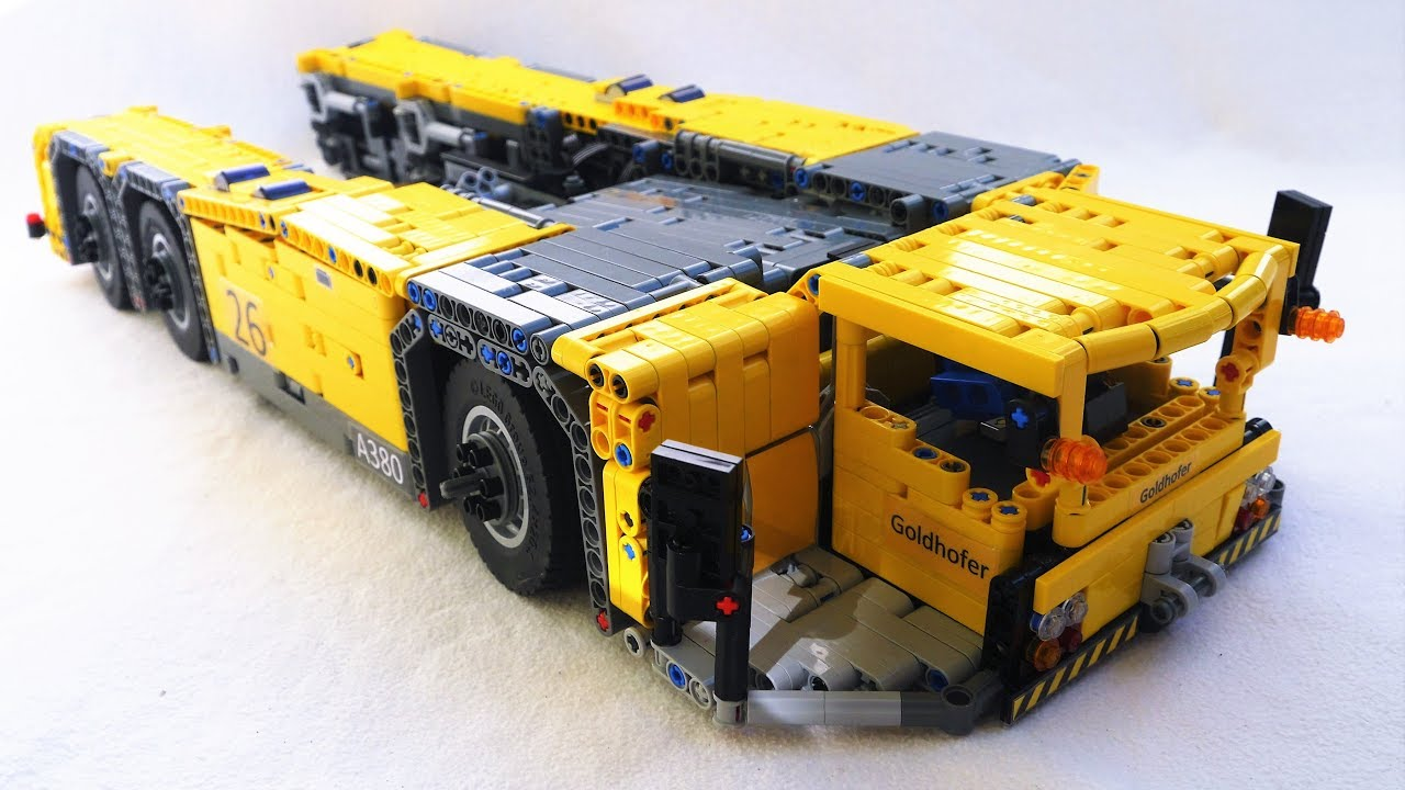 lego technic moc pushback tug goldhofer ast 1x 1360 youtube. Black Bedroom Furniture Sets. Home Design Ideas