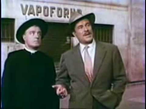 "Vittorio De Sica and Amedeo Nazzari in ""Anna di Brooklyn"""