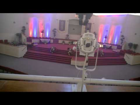 Inside look at church lighting setup