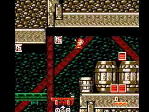 Let's Play eli pelataan: Chip 'n Dale: Rescue Rangers 2