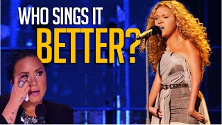 When Contestants Sing The Judges' Songs! Who Sang It Best?