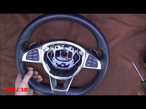 Замена руля Мерседес / плата согласования кнопок руля с более старыми Mercedes