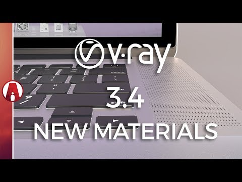 Vray 3.4 for Sketchup New Materials Preview
