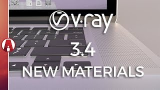 Vray 3.4 Beta for Sketchup New Materials Preview
