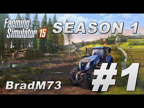 Farming Simulator 15 - Season 1 - Episode 1 - Exploring Bjornholm