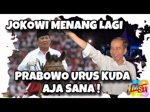 Jokowi Menang Lagi! Prabowo, Urus Kuda Saja!