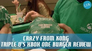"Triple O's Xbox One ""peanut Butter, Bacon & Jalapeno Burger"" - Crazy From Kong Review !!"