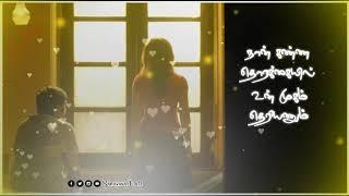 என் விரல் இடுக்குல உன் விரல்_Naanum Rowdydhaan_Tamil Whatsapp Status_Saravana Creative Studio_SCS