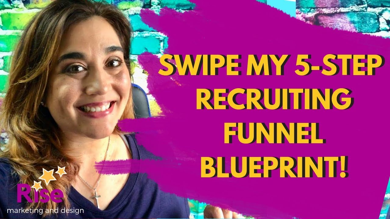*SWIPE* MY 5-Step Network Marketing/MLM Recruiting Funnel Blueprint!