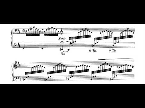 Jean Sibelius - 5 Pieces for piano, op.75 no.5