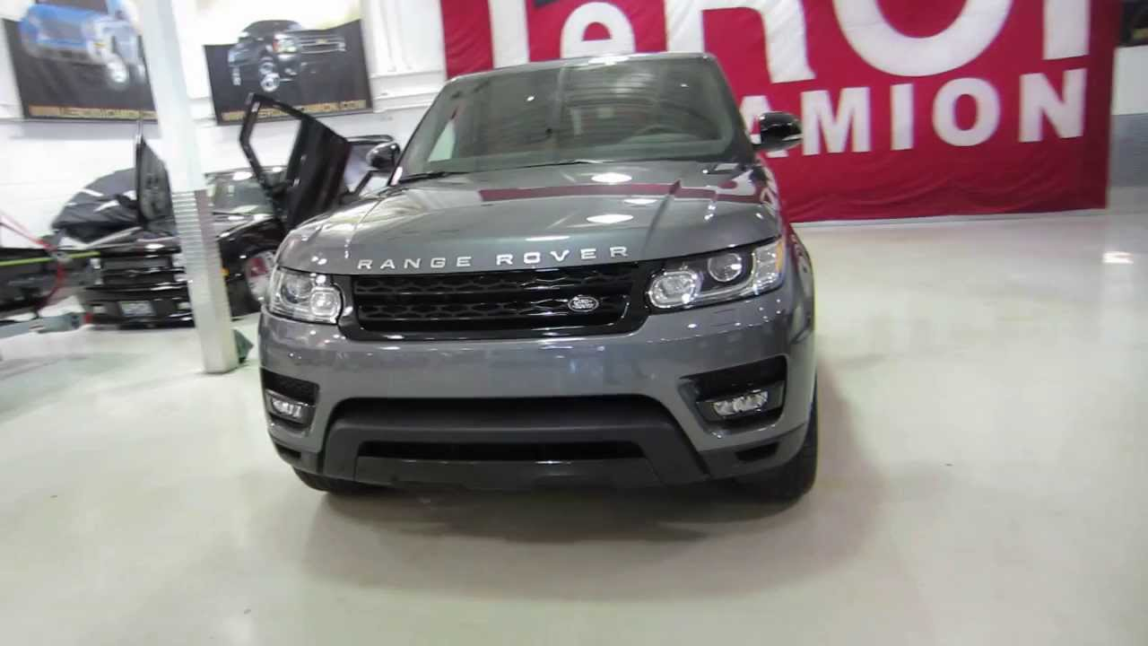 Red Range Rover >> 2014 RANGE ROVER SPORT AUTOBIOGRAPHY 5.0L SUPERCHARGED ...