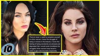 Megan Fox Hits Back At Lana Del Rey In Now Deleted Post
