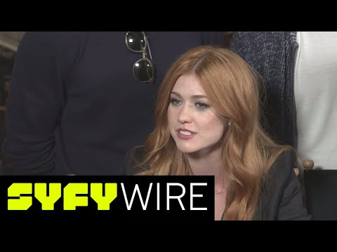 Shadowhunters' Cast On It's Very Different Female Leads | New York Comic-Con 2017 | SYFY WIRE