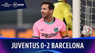 Juventus v Barcelona (0-2) | Champions League Highlights