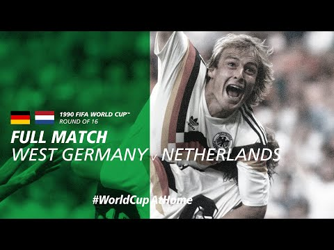 #WorldCupAtHome | West Germany v Netherlands (Italy 1990)