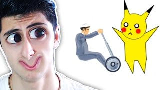 MANYAK PİKACHU !! (Happy Wheels Komik Anlar)