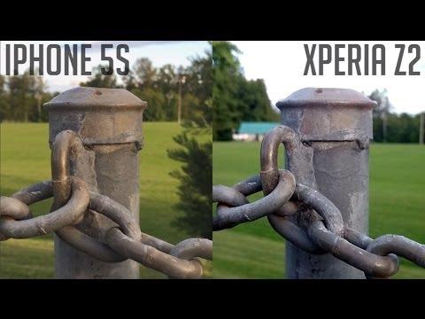 iPhone 5s vs Sony Xperia Z2 - Ultimate Camera Comparison!