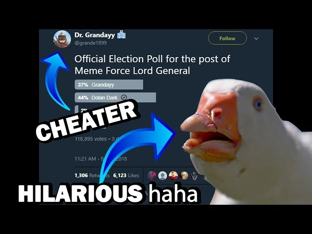 Dolan Dark Must Win The Meme Force Election (And Grandayy Is A Cheater)